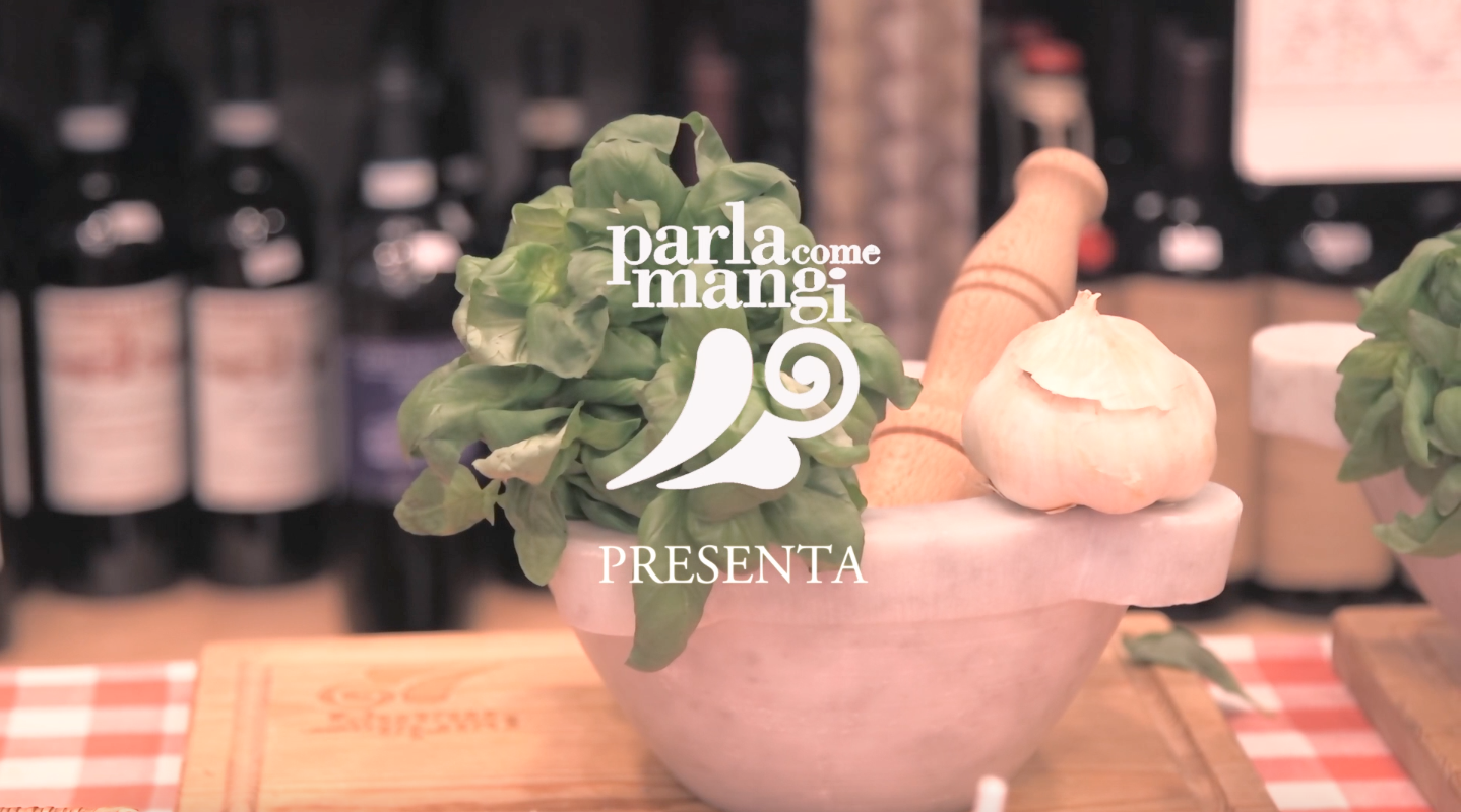 bottega italiana, parla come mangi, video, food italy