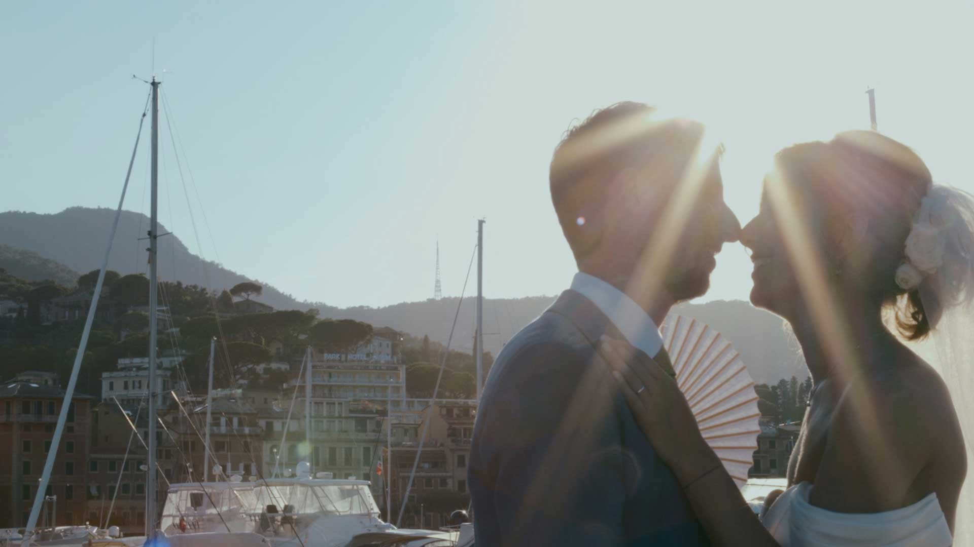 wedding video, santa margherita ligure, italy
