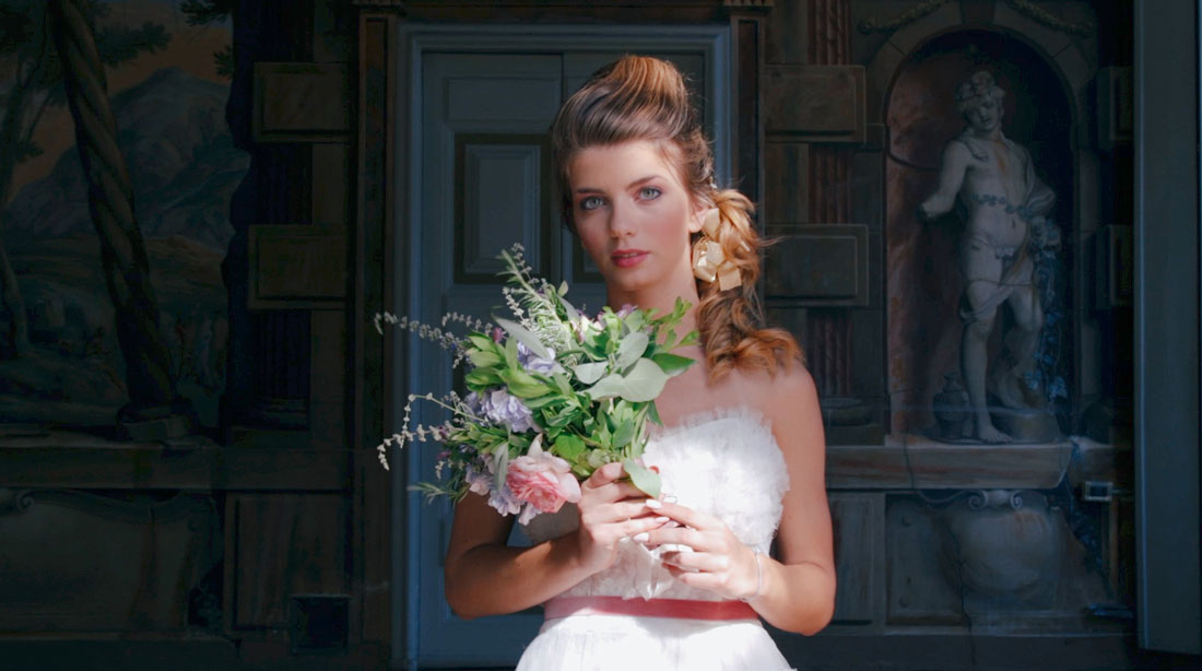shooting, wedding, rococò style, fashion, beauty, trailer by White & Movie